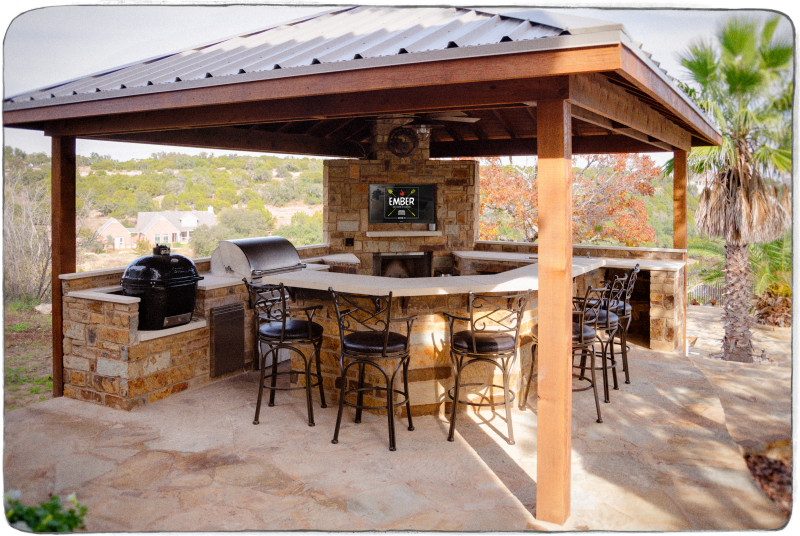 ember ember outdoor kitchens austin